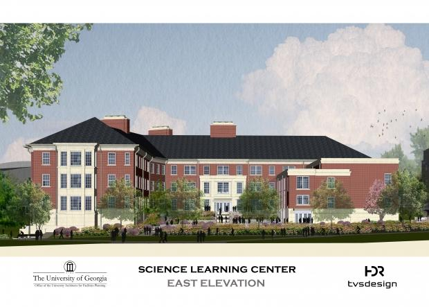 Science Learning Center mock up