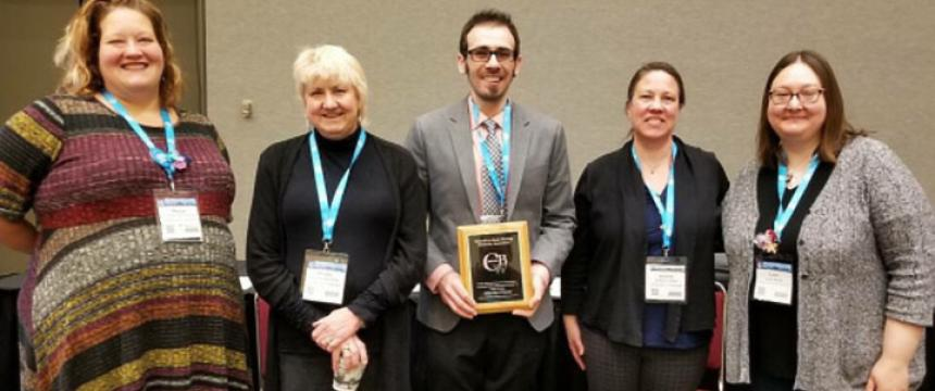 Kristen Miller, Robby Nadler, and Christy Desmet Receive Writing Innovation Award